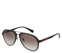 """Sonnenbrille """"SPS05R"""", Piloten-Optik, Doppelsteg, matt"""