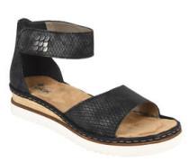 Sandalen, Leder-Optik, Klettverschluss, Nieten