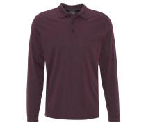 Langarm-Poloshirt, aufgesetzte Brusttasche