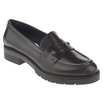 "Loafer ""R1285OXANA 1A"", Glattleder, Stern-Nieten, Grau"