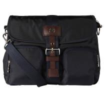 """Handtasche """"Elba"""", Nylon, Außentaschen, Blau"""