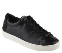Sneaker, Leder, Strass, uni