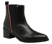 Chelsea Boots, Leder, Zierblende, Nieten