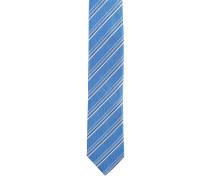 Krawatte, Seide, gestreift, schimmernd