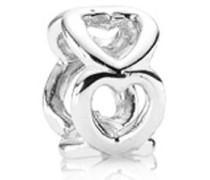 Element Herz Silber 790454