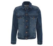 Jeansjacke, Brusttaschen, Kontrastnaht