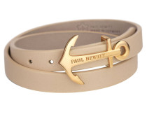 Wickelarmband IP Gold Hazelnut, 37,5 cm PH-WB-G-22S