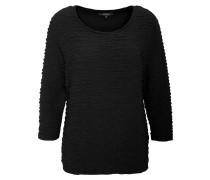 Shirt, Dreiviertelarm, Strukturmaterial, uni