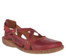 """Sandalen """"Rosalie"""", Leder, Riemchen, Rot"""