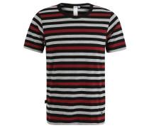 """T-Shirt """"Volker"""", Streifenmuster, für Herren, Schwarz"""