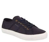 """Sneaker """"Zoe"""", strukturierte Oberfläche, breite Gummisohle, Canvas, Schwarz"""