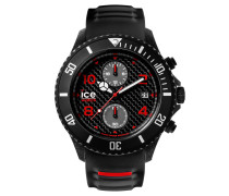 ICE carbon black & white Herrenuhr CA.CH.BK.BB.S.15