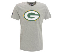 "T-Shirt ""Green Bay Packers"", Melange, für Herren, Grau"