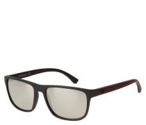 """Sonnenbrille """"EA 4087 5042/6G"""", mattes Design, verspiegelte Gläser"""