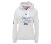 Sweatshirt, Farbverlauf-Print, Kapuze, Ärmel-Print