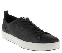 Sneaker, Leder, Innensohle aus Leder, robust, Schwarz