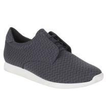 Sneaker low, geometrische Musterung, Schnürung