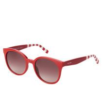 """Sonnenbrille """"TH 1482/S"""", rotes Gestell, Streifen"""