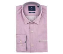Freizeithemd, Modern Fit, Button Down-Kragen, Brusttasche, Pink