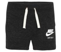 Shorts, meliert, Logo-Print, für Damen