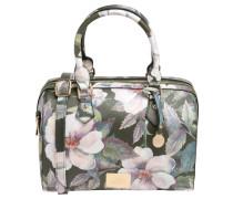 "Handtasche ""Algarve"", Kunstleder, Blumen-Print, Mehrfarbig"
