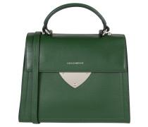 Handtasche, Leder, grafisches Design, Grün