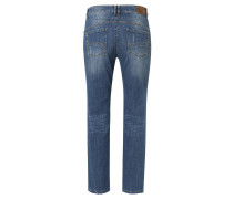 """Jeans """"Carla"""", weite Taille, schmaler Oberschenkel, Blau"""