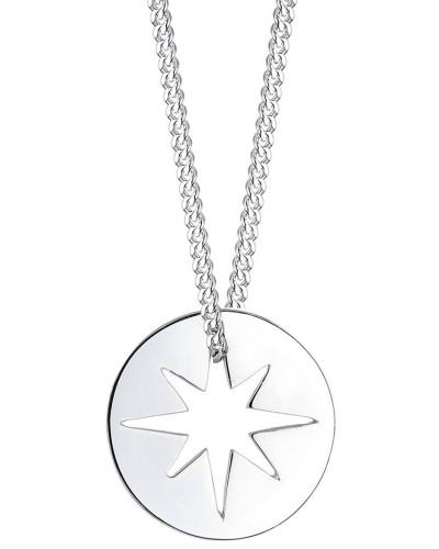 Halskette Sterne Münze Starburst 925 Sterling