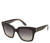 "Sonnenbrille ""DG 4286 3080/8G"", Hahnentrittmuster innen"