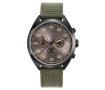 Herrenuhr, Multifunktion, TW10879 MILITARY GREEN