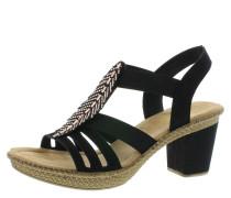 Sandaletten, Blockabsatz