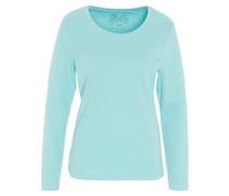 Langarmshirt, Supima-Cotton, Strass