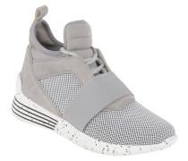 Sneaker, elastischer Spann, Schnürung, zweifarbig