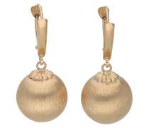 Ohrhänger, Gold 375, Kugel-Design