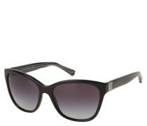 """Sonnenbrille """"EA 4068 5017/8G"""", Verlaufsgläser, gestreifte Bügel"""