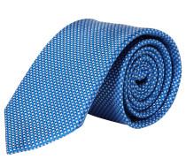 OLMYP Krawatte, reine Seide, gemustert
