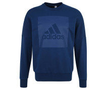 Sweatshirt, XXL-Logo-Aufdruck, für Herren, Blau
