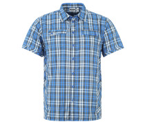 Freizeithemd, Brusttaschen, leicht, für Herren, Blau