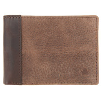 Brieftasche, Leder, Münzfach, Braun