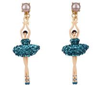 "Ohrringe ""Toe-dancing"", ABDDL115T/3, Ballerina, handbemalt"
