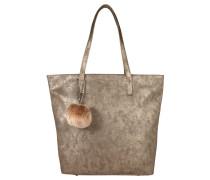 Shopper, Vintage-Look, Anhänger, Gold