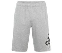 Shorts, meliert, Print, ausgestellt, für Herren, Grau