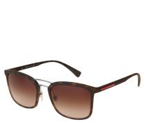 "Sonnenbrille ""SPS03"", dezenter Schildpatt-Look, matt"