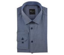 Businesshemd Black Label, Slim Fit, Kent-Kragen, bügelleicht, Blau
