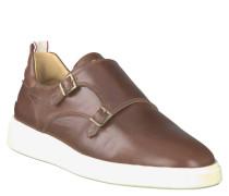 """Slip-On Sneaker """"Beacon"""", Leder, Schnallen, breite Sohle"""