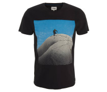 T-Shirt, Front-Print, Baumwolle
