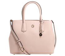 """Handtasche """"Yvonne"""", Logoanhänger, Kunstleder, Rosa"""