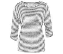Shirt, 3/4-Arm, Streifenmuster, Brusttasche, Ärmelriegel