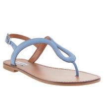 """Sandalen """"Takeaway"""", weiches Nubuk-Leder, Blau"""