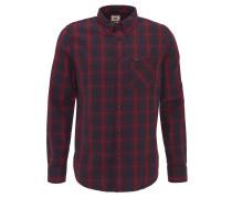 Freizeithemd, Regular Fit, Button-Down-Kragen, Brusttasche, Rot